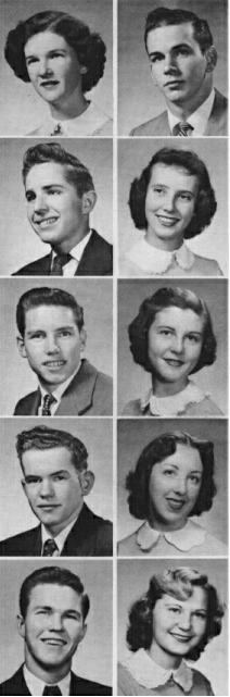 wwhs alumni  u0026quot 1953 class roster u0026quot  page 1